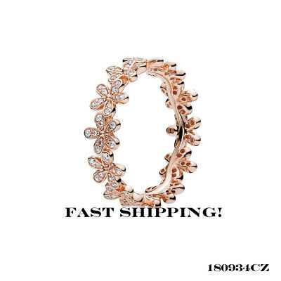 161b069ba0636 NEW! AUTHENTIC PANDORA Rose™ Gold & CZ Dazzling Daisy Ring 180934CZ ...