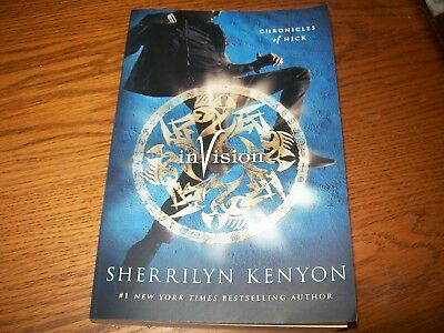 Invision By Sherrilyn Kenyon Chronicles Of Nick Series Book 7