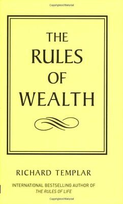 (Good)0273710192 The Rules of Wealth: A Personal Code for Prosperity (The Rules