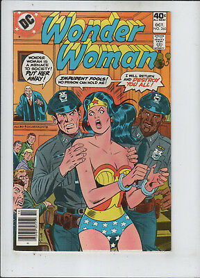 Wonder Woman #260 vf+ to vf/nm