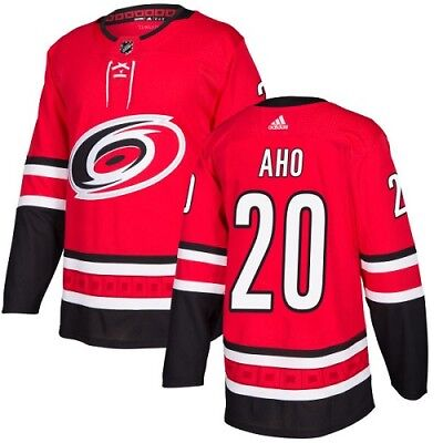 Carolina Hurricanes  20 Sebastian Aho NHL Mens Hockey Jersey Home Away Alt 9a7d986d4