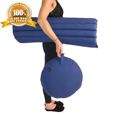 Laeto Sports Zafu and Zabuton Meditation Pillow Set with Kapok Filling -...