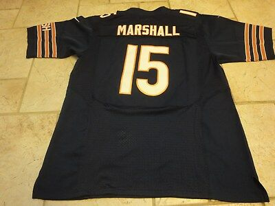 32b67f7d0 Nike NFL Onfield Chicago Bears Brandon Marshall  15 Sewn Football Jersey 48  Nice