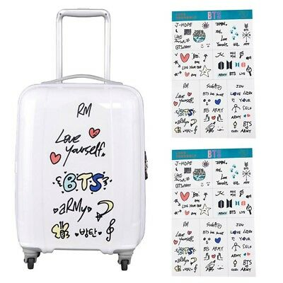 KPOP BTS Stickers Phone Sticker Laptop DIY Luggage Transparent Stickers