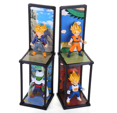 Dragon Ball Z Tamashii Buddies Figure Super Saiyan Trunks Vegeta Goku Piccolo