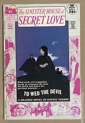 Sinister House of Secret Love #2 1971 VG- 3.5