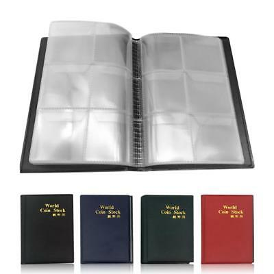10 Pages Coin Album Holder Storage Collection Collecting Stock Pocket Book 2019