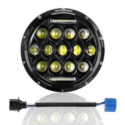 1X 7INCH 150W CREE LED Headlight DRL Lamp For Harley Davidson