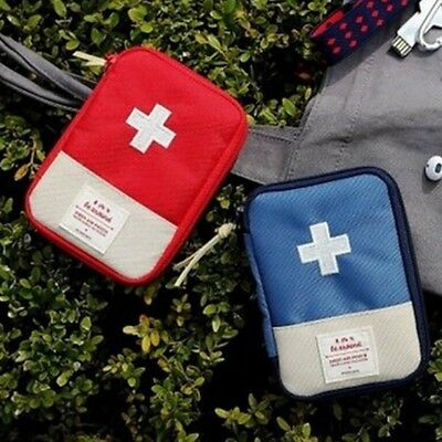 1pc Portable First Aid Medical Kit Survival Medicine Bag Emergency Outdoor Tool