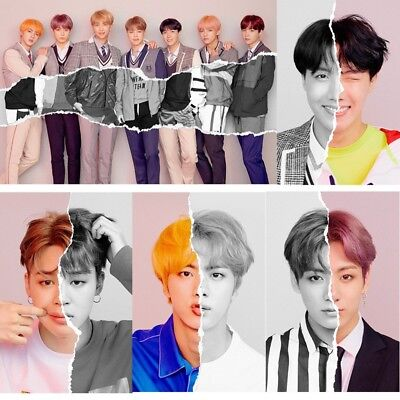 "KPOP BTS《LOVE YOURSELF 结 ""Answer""》L version Wall Poster Paper New Poster"
