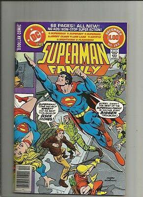 The Superman Family #192 vfn/nm 1978 68 pages Supergirl Dollar Comic DC comics