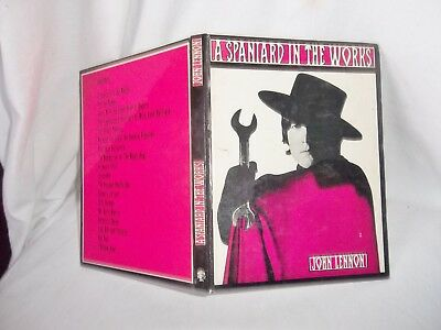 THE BEATLES JOHN LENNON'S A SPANIARD IN THE WORKS GENUINE 1st EDITION JUNE 1965