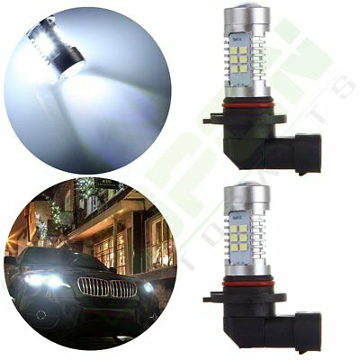 2x 9005 HB3 Cree LED 30 SMD Fog Light Bulbs Vehicle Bright Lamps 6000K 4000LM