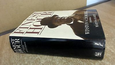 Finest Hour: Winston S. Churchill 1939-1941, Martin Gilbert, Book