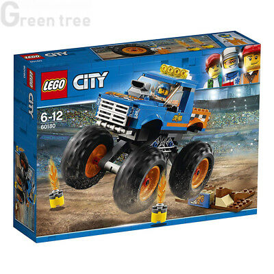 LEGO 60180 City Great Vehicles Monster Truck Construction Sets for Kids