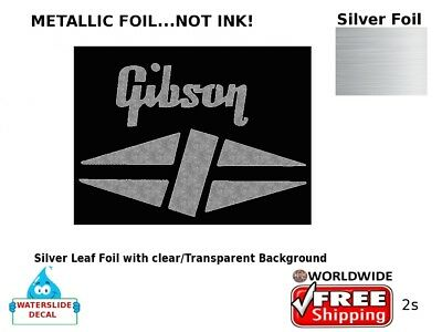 Gibson Guitar Decal Headstock Sticker Inlay Decal Restoration Logo 2s