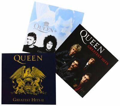 Queen Greatest Hits I, II & III- CD- Set mit 3 CDs - Platinum Collection