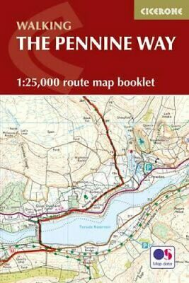 Pennine Way Map Booklet: 1:25,000 OS Route Mapping by Paddy Dillon...
