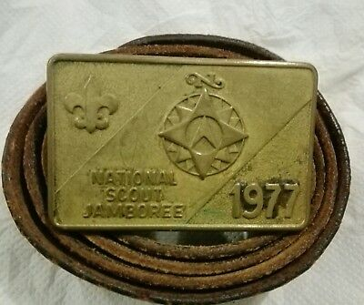 Cintura Belt Scout National Jamboore 1977