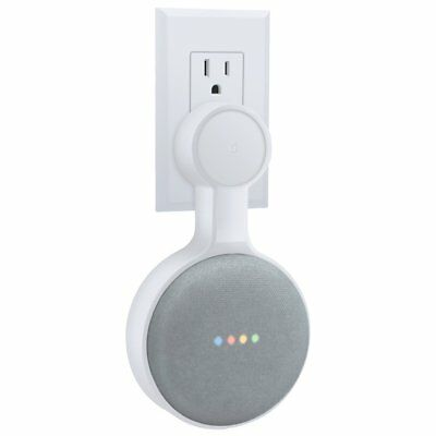 Outlet Wall Mount Holder for Google Home Mini, A Space-Saving Accessories