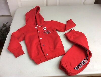 H Wolf & Sons University of Pennsylvania Vintage Tracksuit Toddler Size 2