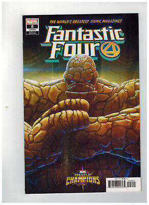 FANTASTIC FOUR #6  1st Printing - Contest of Champions Variant     / 2019 Marvel
