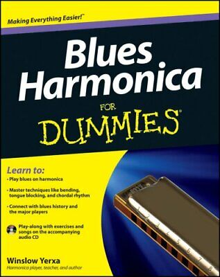 Blues Harmonica For Dummies by Winslow Yerxa 9781118252697 (Paperback, 2012)