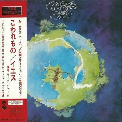Yes - Fragile 2001 Hdcd Japan Mini Lp Cd