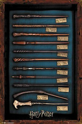 HARRY POTTER POSTER - Wands of the Wizards, Size 24x36