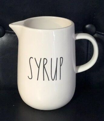 Rae Dunn SYRUP Ceramic Pitcher