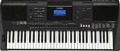 Yamaha PSR-E463 Portable Keyboard w/Survival Kit