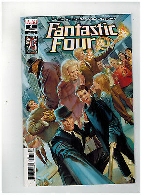 FANTASTIC FOUR #6  1st Printing - Alex Ross Marvels 25th Variant   / 2019 Marvel