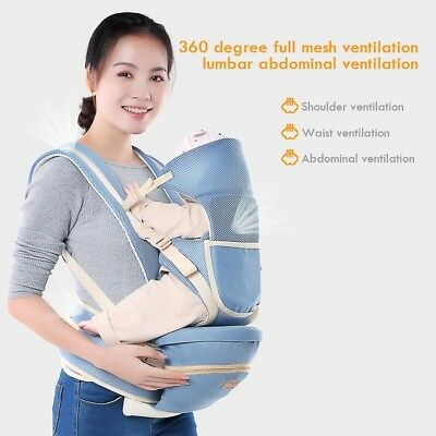 Ergonomic Strong Breathable Adjustable Infant Newborn Baby Carrier Backpack