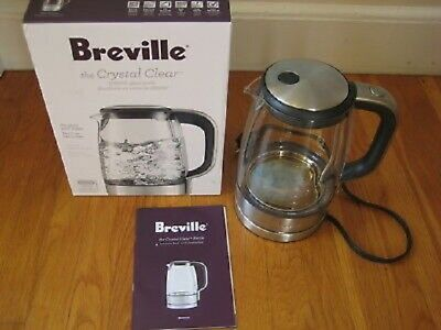 NEW - Breville the Crystal Clear Kettle BKE595CLR - QUICK DELIVERY