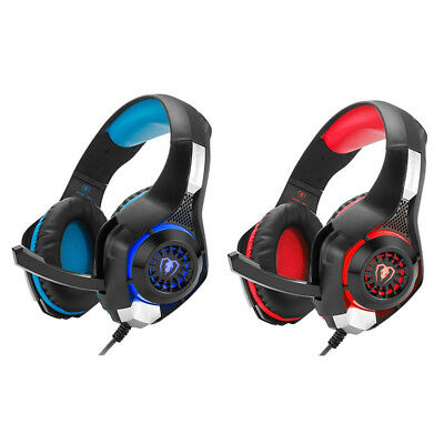 1X(Beexcellent GM-1 Gaming Headset, Stereo Gaming Headphones Noise Isolatio D9F5