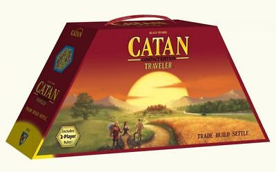 Catan Strategy Board Game - Traveller Compact Edition