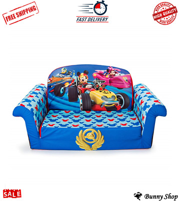 Marshmallow Furniture Flip Open Sofa Disney Frozen Kids Chair Pull
