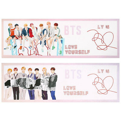 KPOP BTS LOVE YOURSELF 結 ANSWER Hang Up Poster Concert Support Banner