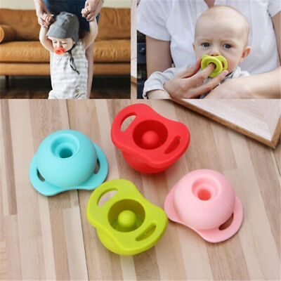 2018 Silicone Nipple Feeder Funny Soother Flexible Pacifier For Newborn Infant ^