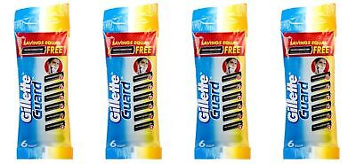 Gillette Guard Replacement Refill Blade Cartridge For Safe Shaving F/Shipping