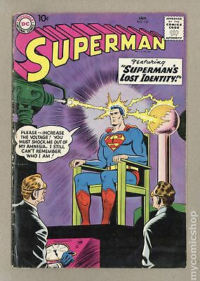 Superman (1st Series) #126 1959 GD/VG 3.0 RESTORED