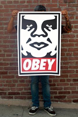 SHEPARD FAIREY OBEY ICON signé 2018