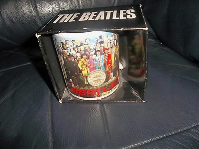 The Beatles Sgt. Peppers Lonely Hearts Club Band Official Mug Cup Boxed New !