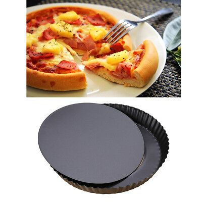 9 inch Non-stick Pizza Pan Quiche Pan With Removable Bottom Removable Loose