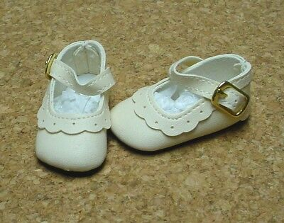 "others 54mm YELLOW Modern T-Straps Doll Shoes 13/"" Patsy P91 Toni"