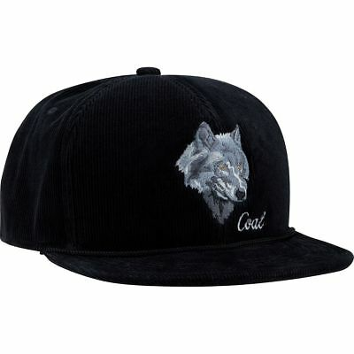cc783064f87d2 Coal Headwear Wilderness Snapback Hat - Men s Black Wolf One Size