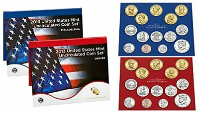 2013 P & D US Mint Set in Original Government Packaging Uncirculated