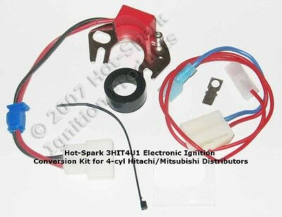Electronic Ignition Replaces Points in 4-cyl Datsun/Nissan - 3HIT4U1