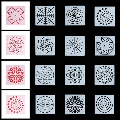 Decorative Layering Stencils Scrapbooking Mandala Auxiliary Painting template