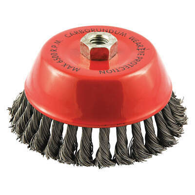 """GRAINGER APPROVED Cup Brush,Wire 0.020"""" dia.,Carbon Steel, 66252838526"""